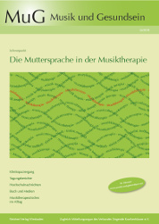 Cover MuG 35 Die Muttersprache in der Musiktherapie